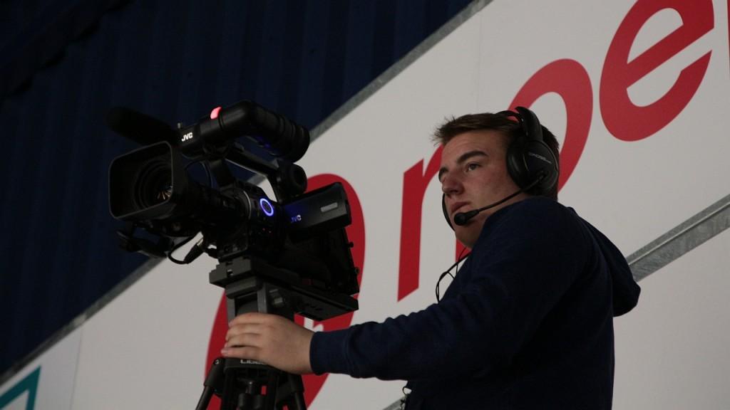Kamera pro snímání zápasu